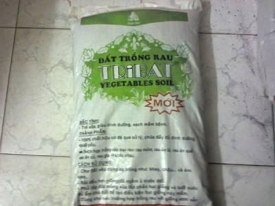 Đất trồng rau mầm tribat 20dm3 (giá thể tribat)