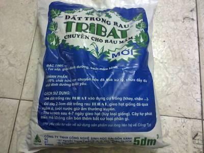Đất trồng rau mầm tribat 5dm3