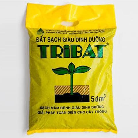 Đất sạch giàu dinh dưỡng tribat 5dm3 (2,5kg)