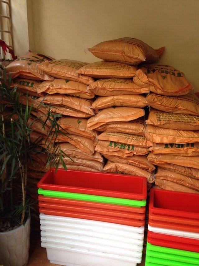 Nhà vườn HTV cung cấp các loại đất sạch nhiều dinh dưỡng