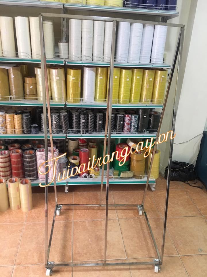 Khung treo túi vải bằng inox tại Hà Nội