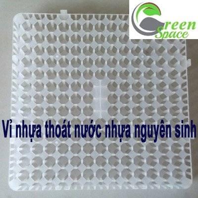 Vỉ nhựa thoát nước nhựa nguyên sinh