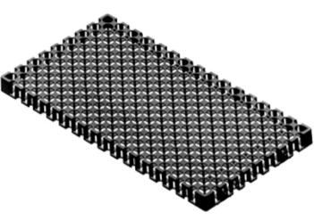 Vỉ nhựa thoát nước 500x250x30mm